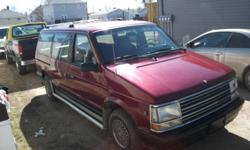 1990 Plymouth Voyager Minivan