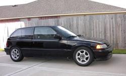 1991 Honda Civic Hatchback sollllllllddddddddddddd
