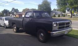 1992 Dodge Power Ram 1500 Pickup Truck