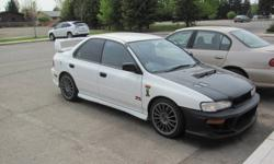 1993 Subaru WRX RIGHT HAND DRIVE