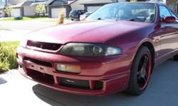 1994 Red R33 Nissan Skyline GTS25T for