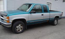 1995 Chevrolet Silverado K1500 EXT. cab Pickup Truck!
