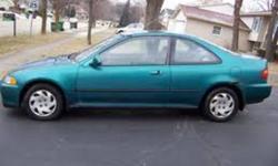 1995 Honda Civic Dx Coupe