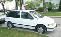 1995 Mercury Villager Minivan