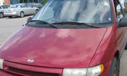 1995 Nissan Quest Minivan