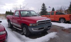 1996 Dodge Power Ram 1500 chrome Pickup Truck