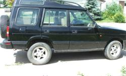 1996 Land Rover Discovery SE7 SUV