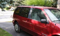 1996 Nissan Quest XE Minivan