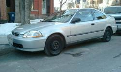 1997 Honda Civic DX Coupe - 196,199 kms - Rust Free!