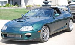 1997 Toyota Supra Twin-Turbo GT28 New Leather Coupe LHD