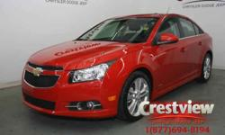 2012 Chevrolet Cruze LT Turbo w/RS package