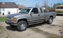 1998 Chevrolet Silverado 1500 6.5L Turbo Diesel extended cab ...
