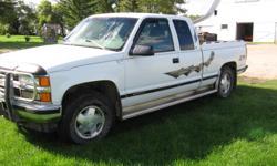 1998 Chevrolet Silverado 6.5 turbo diesel 4x4 extendacab Truck
