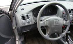1998 honda civic LX auto 4 doors sedan,only165000KM,4 cyl,ac