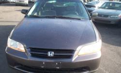 1999 Honda Accord DX Sedan