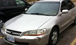 1999 Honda Accord Vtech