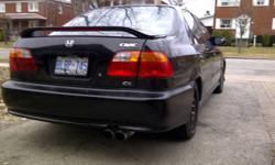 1999 Honda Civic EX Sedan with A/C and Emission test