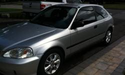 1999 honda civic hatchback LOW LOW KM