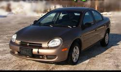 2000 Chrysler Neon - Safetied