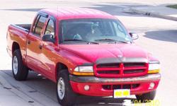 2000 Dodge Dakota Quad Cab Sport Pickup Truck
