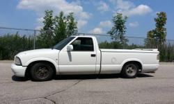 2000 GMC-S10 Sonoma Long box truck very RARE find