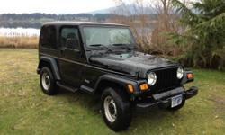 2000 Jeep TJ Black Standard