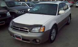 2000 Subaru Outback Limited, -AUTO, LEATHER, AWD, H-SEATS,