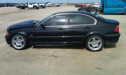 "2001 BMW 3-Series 330i Sedan ""PARTS ONLY"