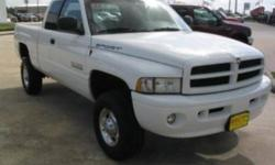 2001 Dodge Power Ram 2500 Pickup Truck LONG BOX WITH V PLOW