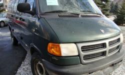 2001 Dodge ram van B 3500,cargo van,fully loaded, 183000KM,8 cyl,5.2l