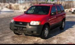 2001 Ford Escape - Safetied