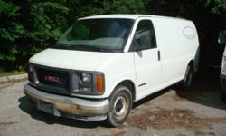2001 GMC G2500 Cargo/Panel Van.