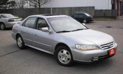2001 HONDA ACCORD EX-L MINT!! FULLY LOADED!!! CERTIFIED + ETESTED!!! -