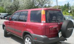 2001 Honda CR-V EX SUV,One year p t warranty included