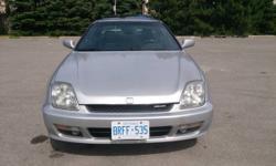 2001 Honda Prelude Silver