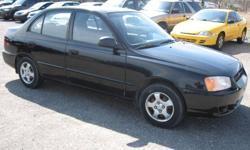 2001 Hyundai Accent Sedan - Automatic