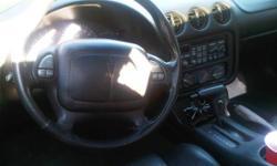2001 Pontiac Firebird T-Top Convertible All Black
