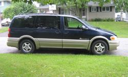 2001 Pontiac Montana Minivan for parts or rebuild