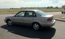 2001 Toyota Corolla LE - 4Dr - Automatic with ONLY 48,000 km