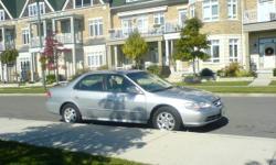 2002 Honda Accord Sedan EXL leather sun roof