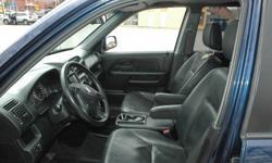 2002 Honda CR-V exl SUV (Loaded)