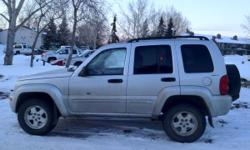 2002 Jeep Liberty, Limited edition