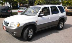 2002 MAZDA TRIBUTE 4X4 - FULLY LOADED - CERTIFIED AND ETESTED!!!!!!!!!