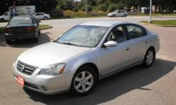 2002 NISSAN ALTIMA 2.5S - SPORTY & ECONOMICAL - CERT + ETESTED!!!!!!!