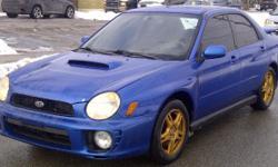 """2002 Subaru WRX Manual """"AWD"""" Sedan"""