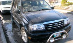 2002 Suzuki XL-7 JX 4x4 SUV