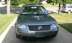 2002 Volkswagen Passat 1.8L Turbo