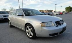 2003 AUDI A6 2.7T QUATTRO AWD LEATHER SUNROOF FULLY LOADED