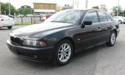 2003 BMW 525i *** SUNROOF, Leather, AC & Heated Seats ***