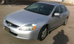 2003 Honda Accord EXL **Manual Transmission**